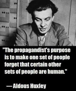 Aldous Huxley Propagandist Job