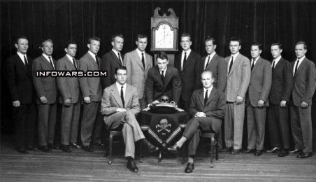 Skull and Bones Old Group Photo