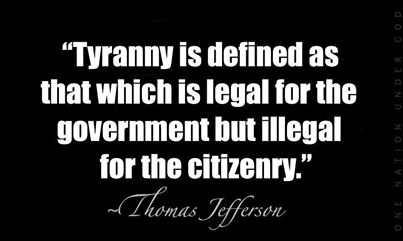 That Which is Tyranny by Jefferson