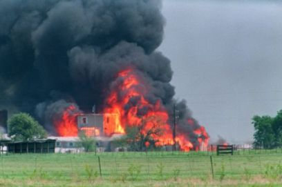 Waco Compound Burns