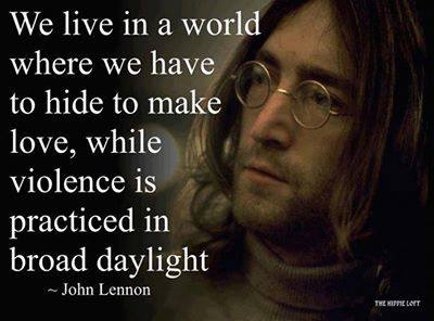 John Lennon We Live in a World