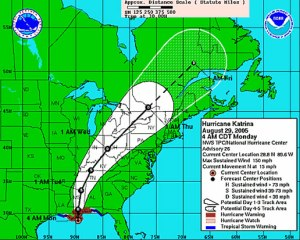 National Hurricane Map