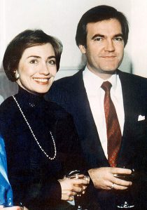 Hillary Clinton and Vince Foster