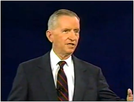 Ross Perot at the Debates