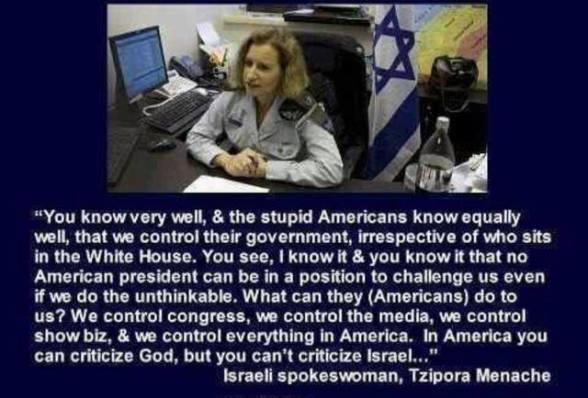 israeli-control-of-america