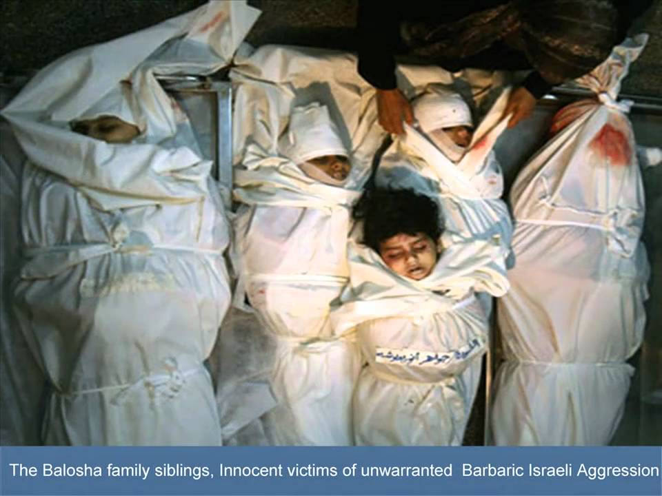 Children Victims of Operation Cast Lead