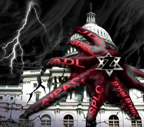 Octopus Stranglehold of the Israel Lobby