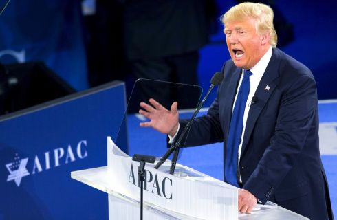 Trump Speaks at AIPAC