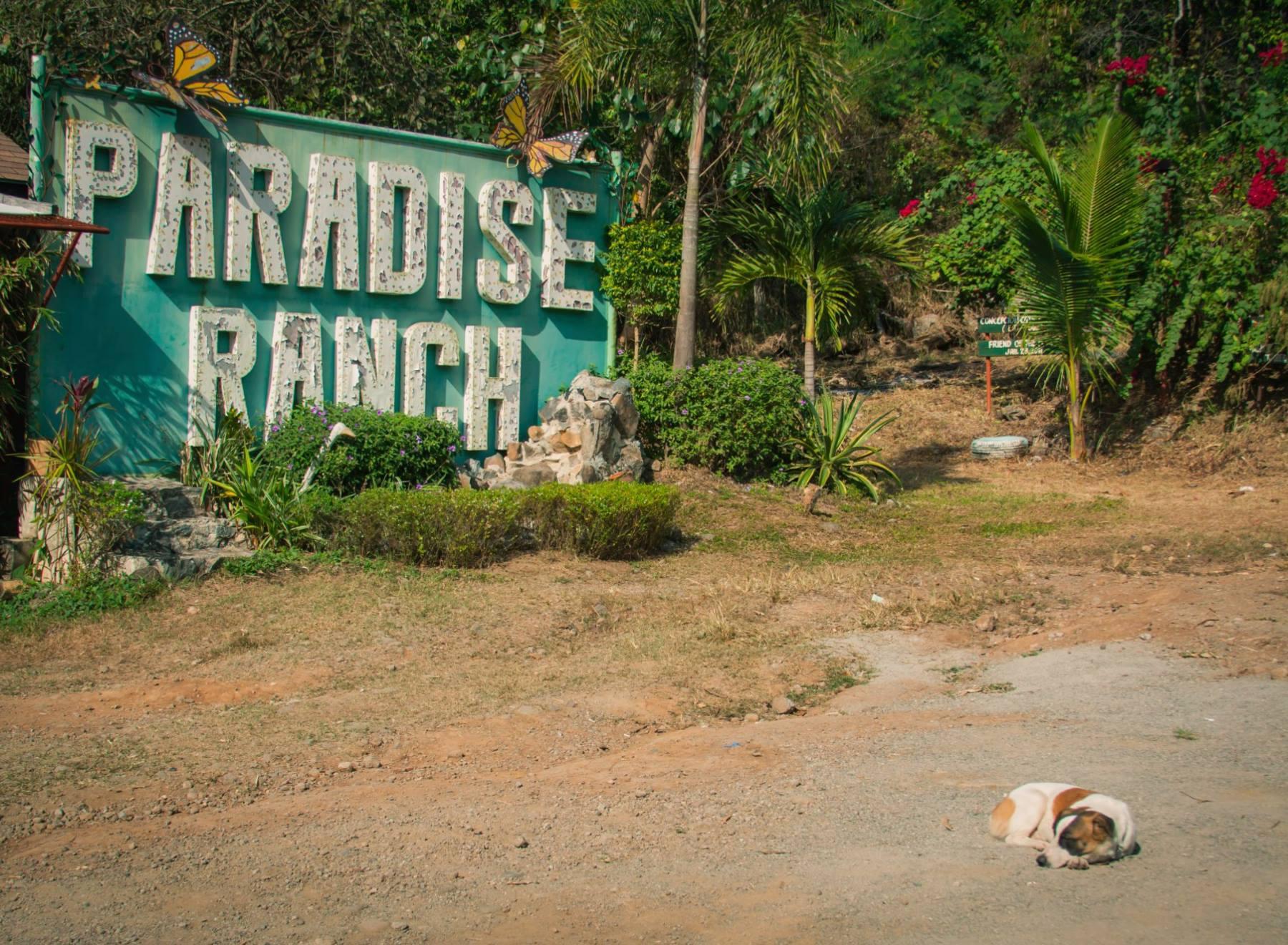 Paradise Ranch Entrance