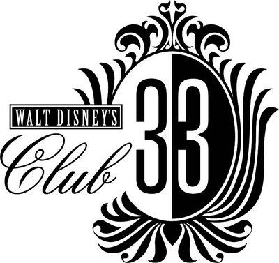 Disney 33 Club Logo