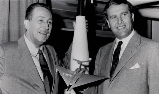 Disney and von Braun