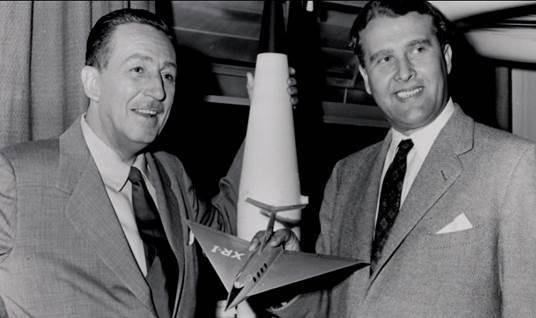 Disney and von Braun