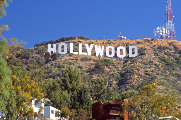 Hollywood Sign in the Hills